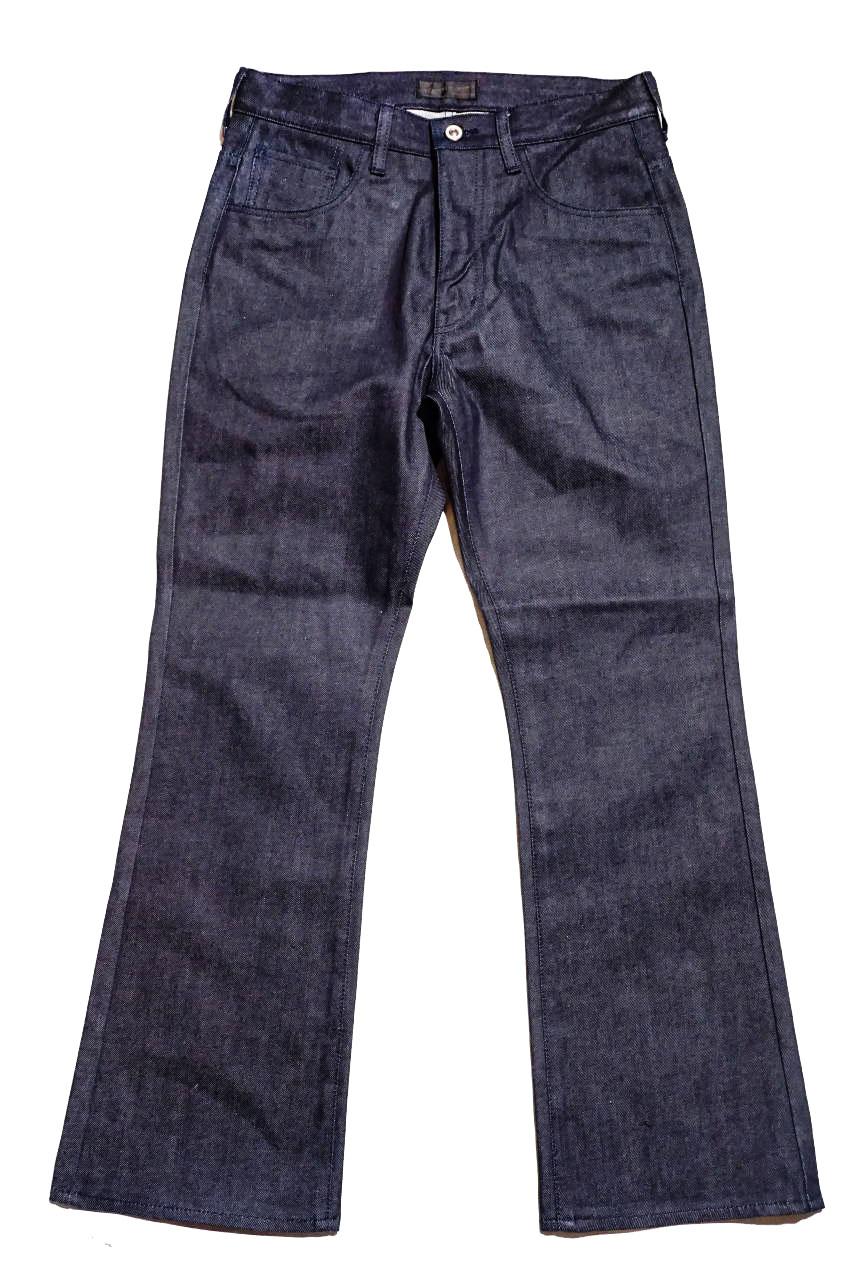 FAR EASTERN ENTHUSIAST SEMI FLARE CUT PANTS BY BAA INDIGO