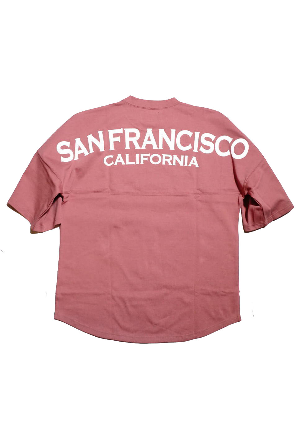 JANIS & Co. #BIG SF/CA TEE PEACH