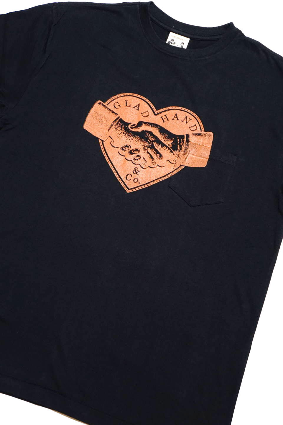 GLAD HAND HEARTLAND - S/S T-SHIRTS BLACK