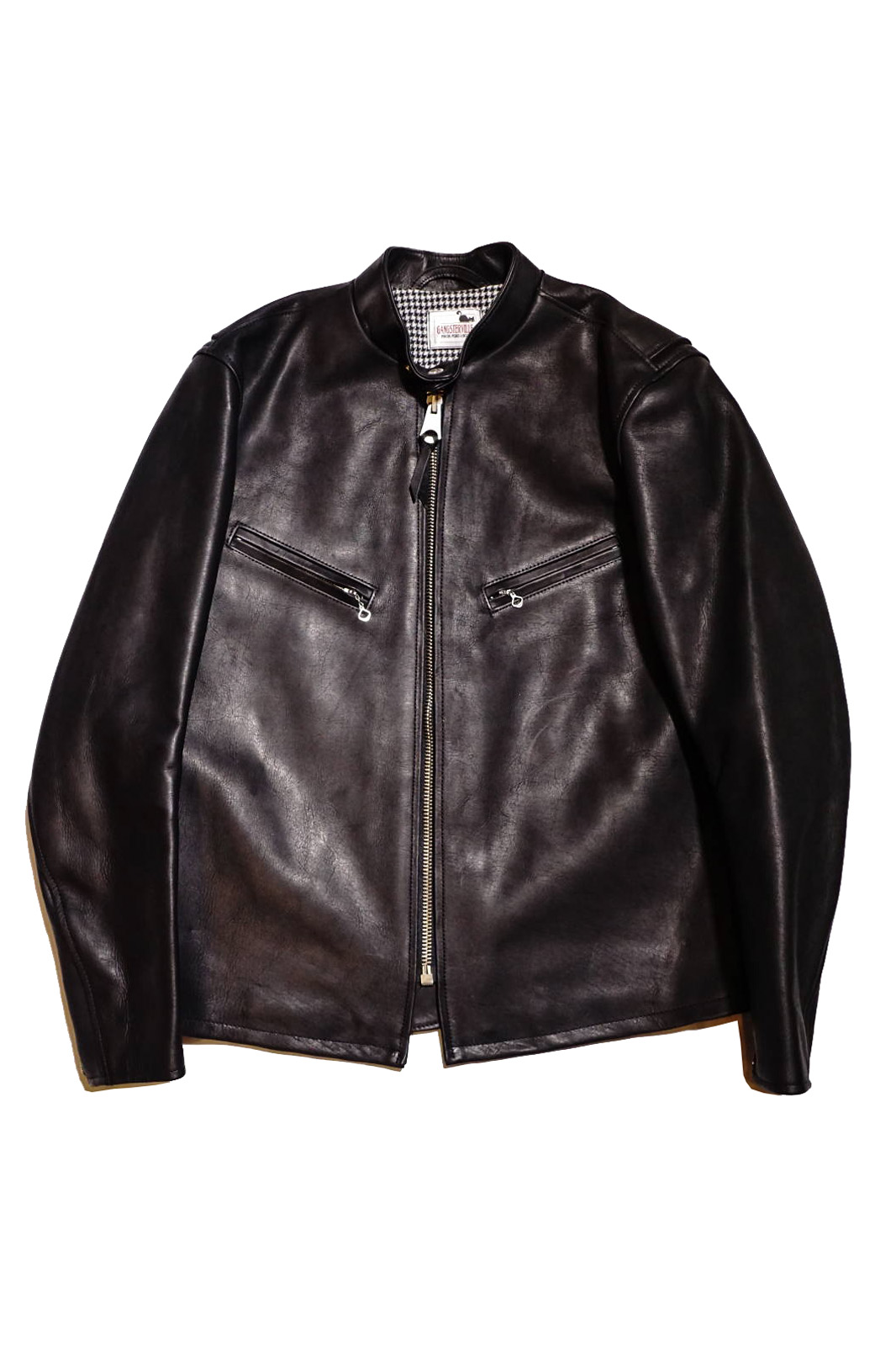 """GANGSTERVILLE SINGLE - RIDERS """"COW HIDE"""" BLACK"""