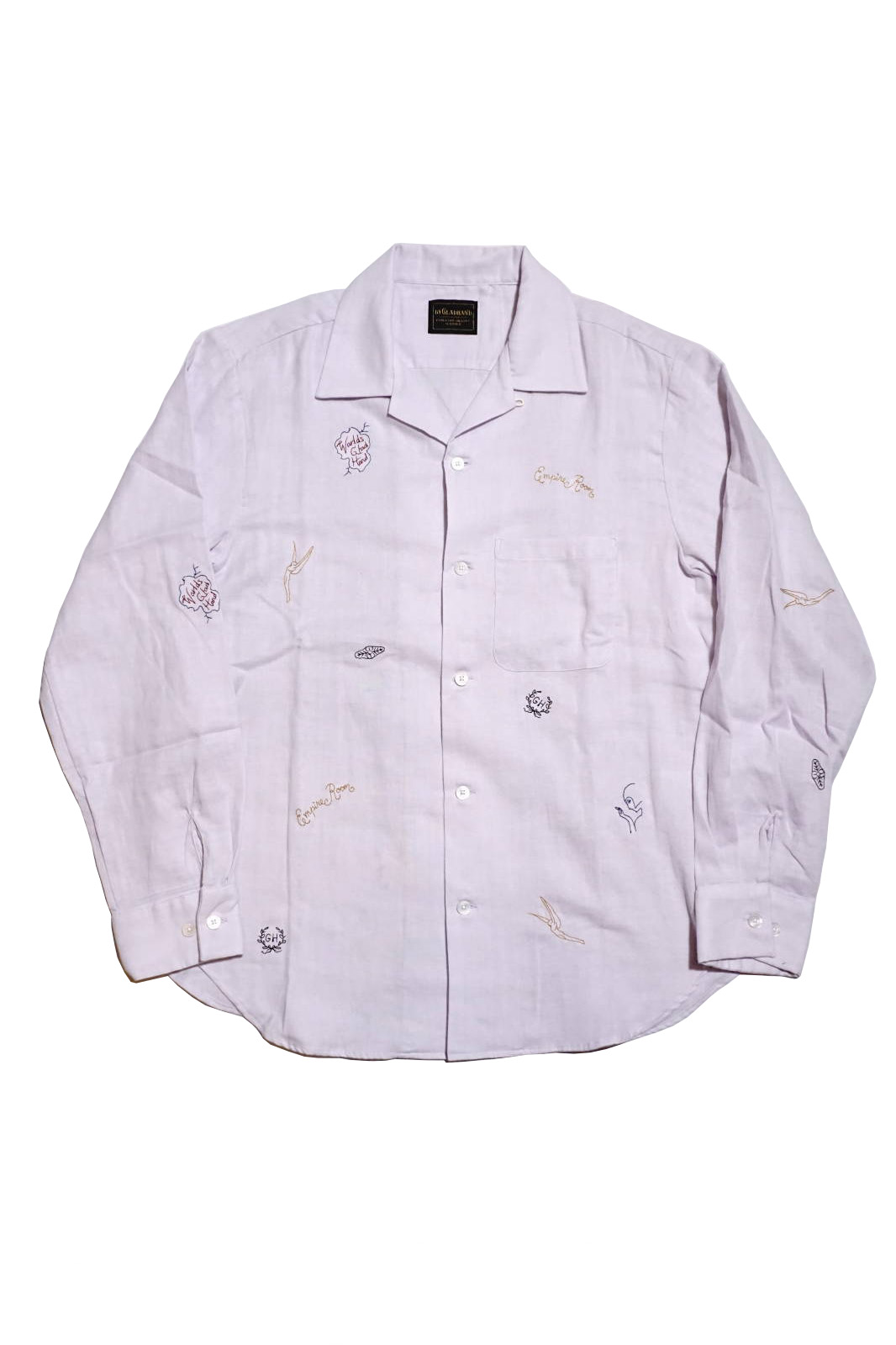 BY GLAD HAND EMPIRE ROOM - L/S SHIRTS LAVENDER