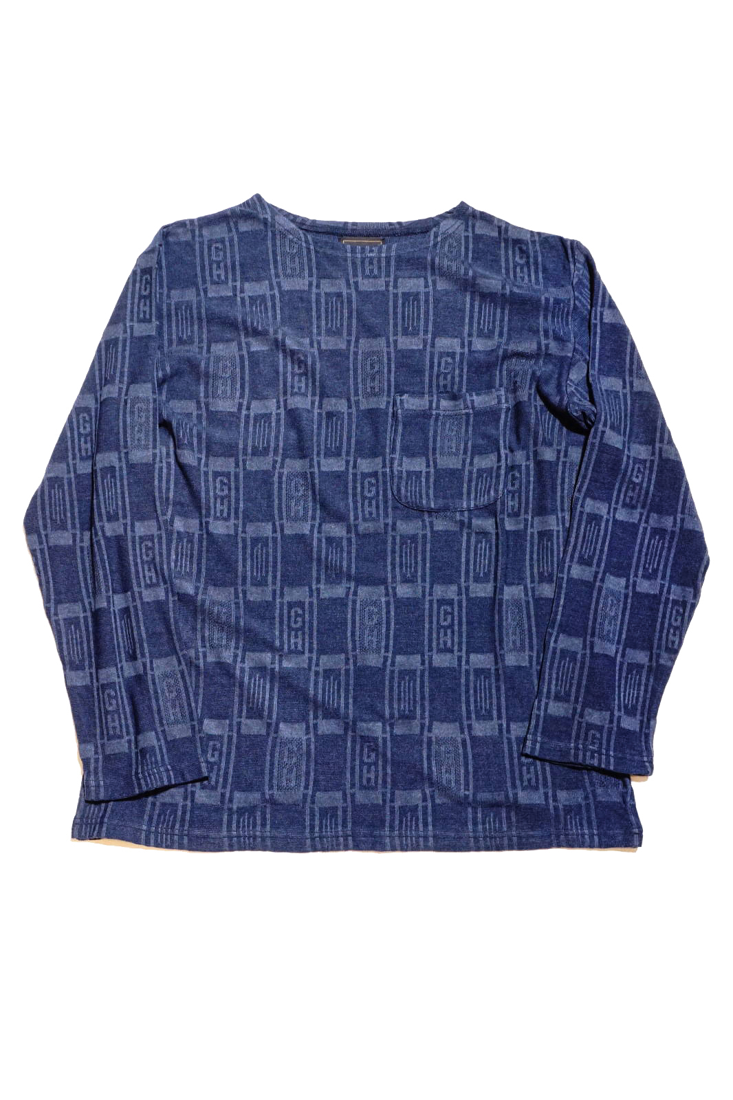 BY GLAD HAND EMPIRE GLAD - L/S BOAT NECK NAVY