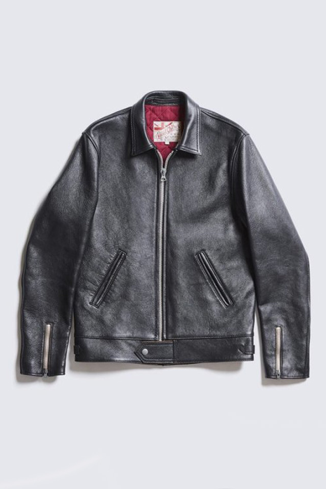ADDICT CLOTHES JAPAN AD-01 CENTER-ZIP JACKET (SHEEP) BLACK
