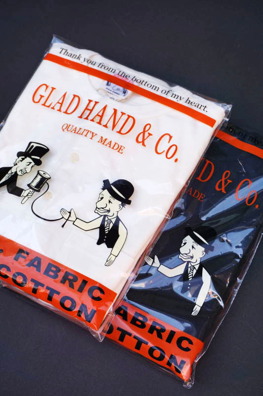 GLAD HAND HALF SLEEVE HENRY POCKET T-SHIRTS