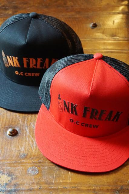 """O.C CREW """"INK FREAK""""MESH CAP"""