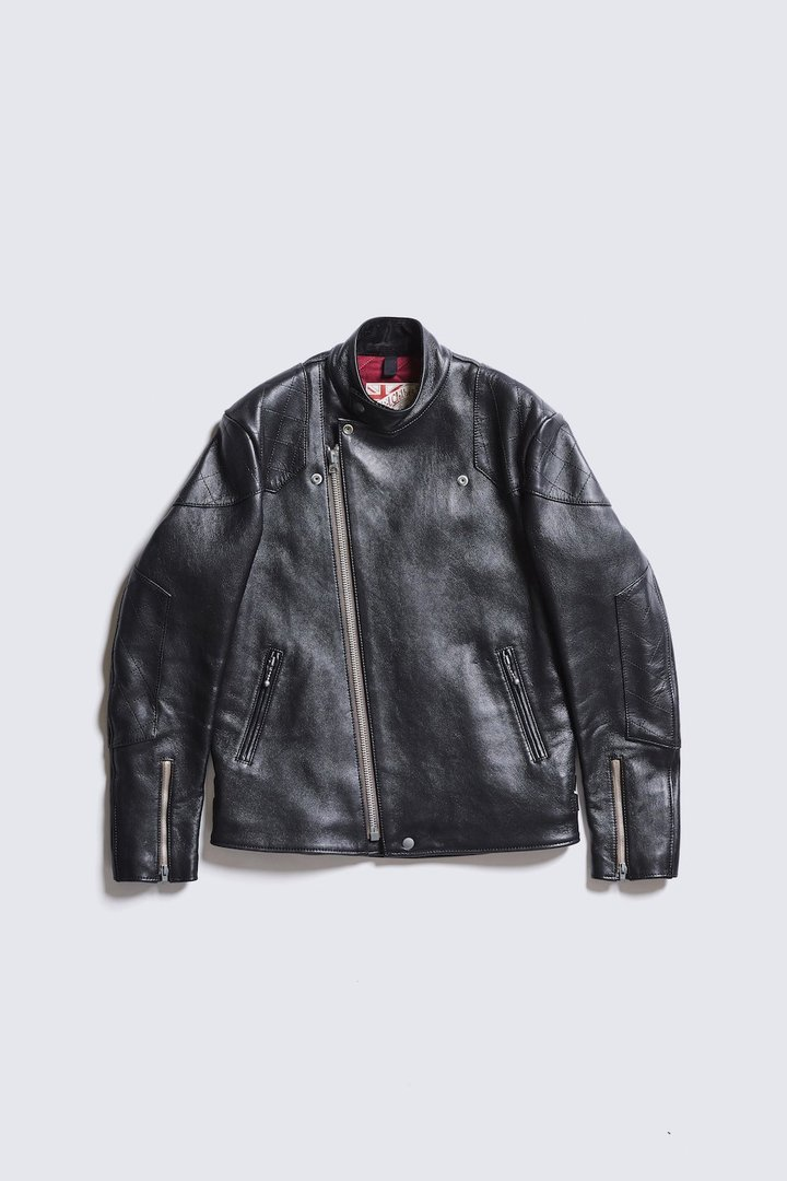 ADDICT CLOTHES JAPAN AD-04 RESISTANCE JACKET (SHEEP) BLACK