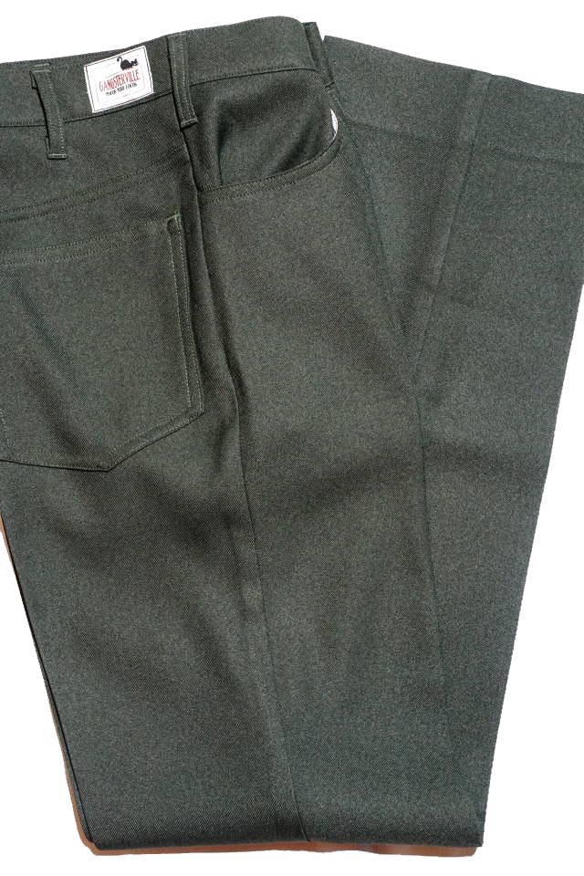 GANGSTERVILLE REBELS - PANTS GREEN