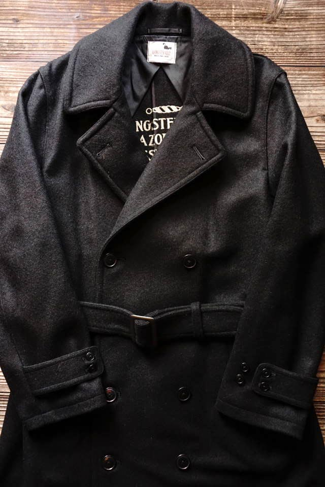 GANGSTERVILLE CLASSIC PARLOR - TRENCH COAT BLACK