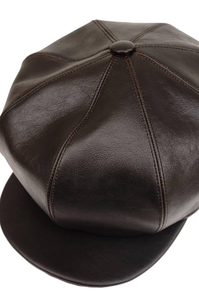 "GANGSTERVILLE THUG - CASQUETTE ""COWHIDE"" BLACK"