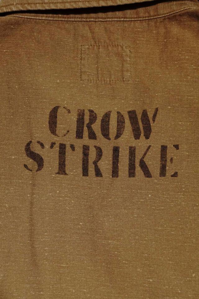 OLD CROW CROW STRIKE - S/S SHIRTS BEIGE