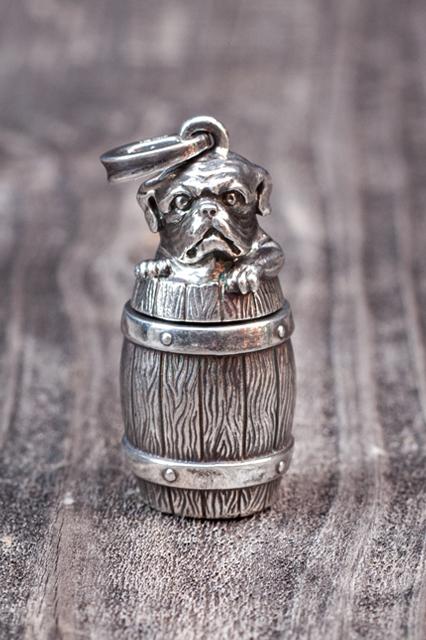 PEANUTS & Co. Bull bottle Silver