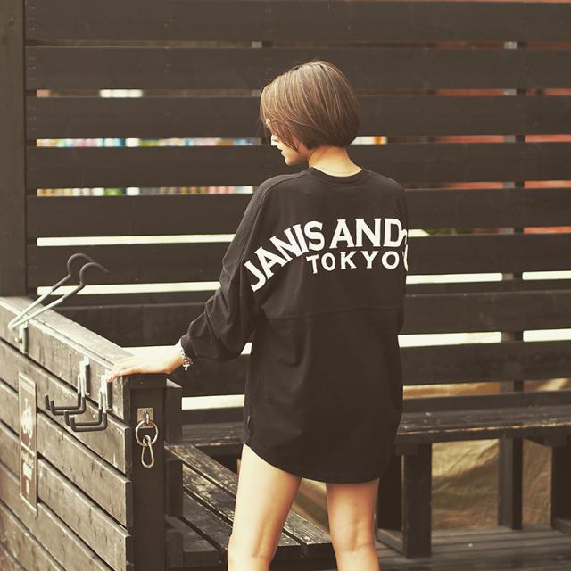 TOKYO -BIG L/S TS (BLACK)
