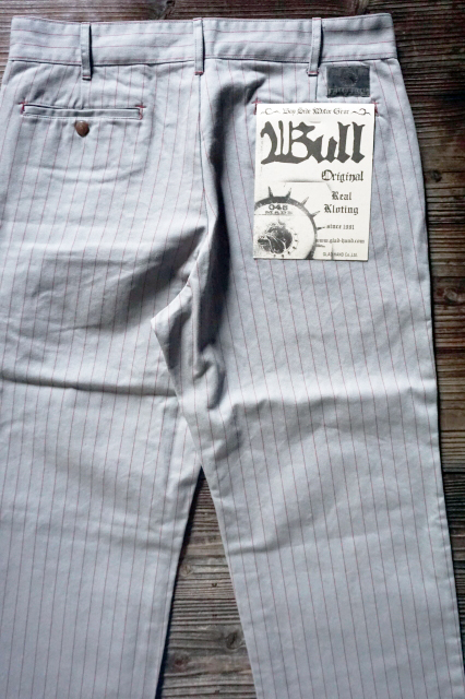 B.S.M.G. WORK PANTS GRAY