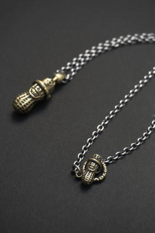 brass   +PEANUTS CHAIN  silver×brass