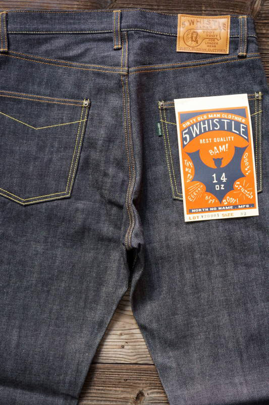 5 WHISTLE DENIM PANTS INDIGO