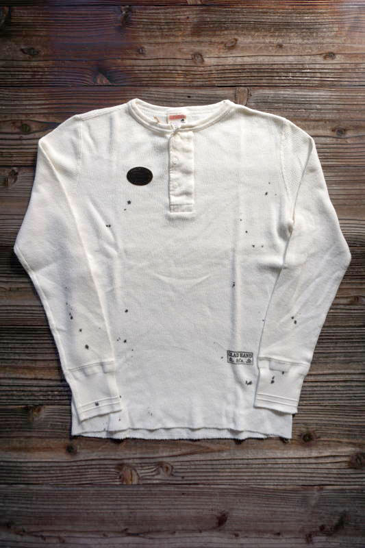 """GLAD HAND WAFFLE HENRY L/S T-SHIRTS """"USED"""""""