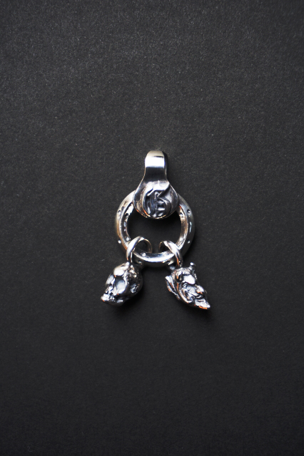 GANGSTERVILLE×galcia PENDANT HEAD SILVER