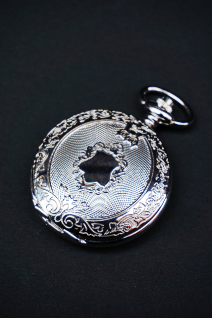 galcia GPW- S01 : galcia POCKET WATCH / SILVER