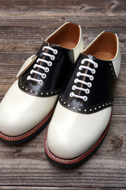GLAD HAND × REGAL SADDLE SHOES WHT/BLK