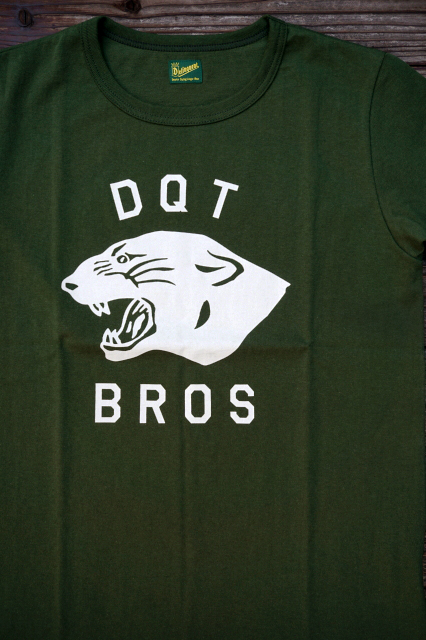 Delinquent Bros PANTHER TEE GREEN