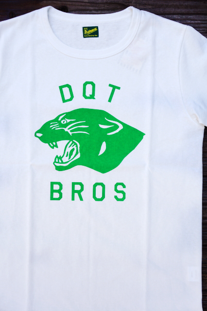 Delinquent Bros PANTHER TEE WHITE