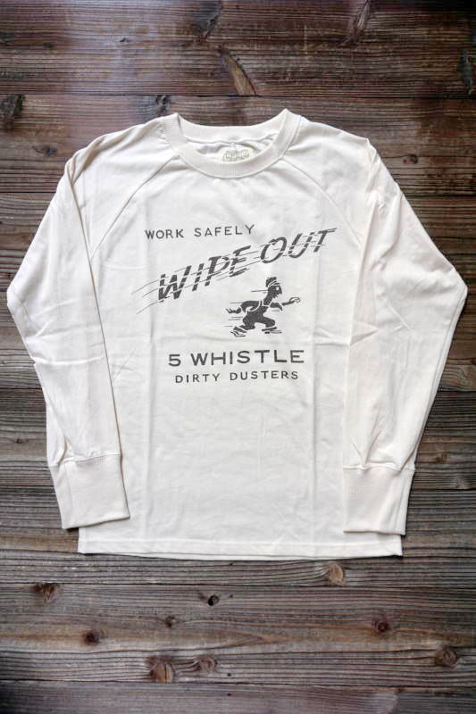 5 WHISTLE WIPE OUT BEIGE×BLACK