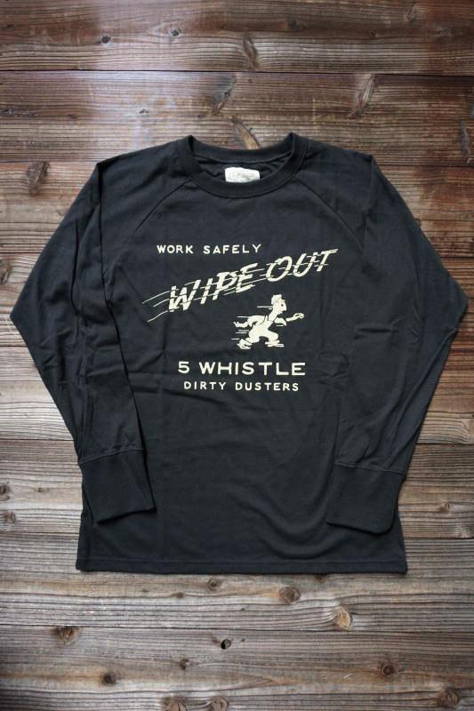 5 WHISTLE WIPE OUT BLACK×WHITE