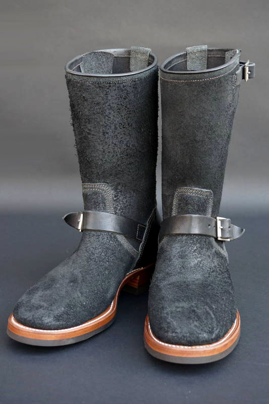 CLINCH Enginner boots Full VG Black & Black Roughout