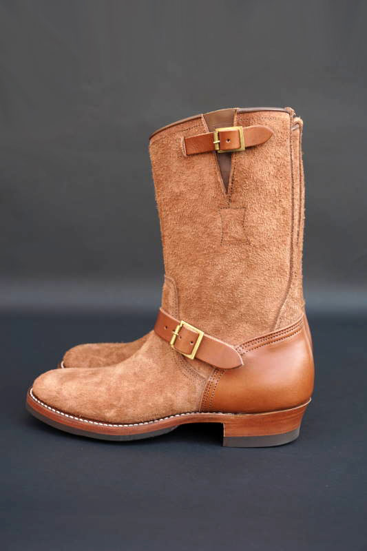 CLINCH Enginner boots Full VG Brown & Brown Roughout