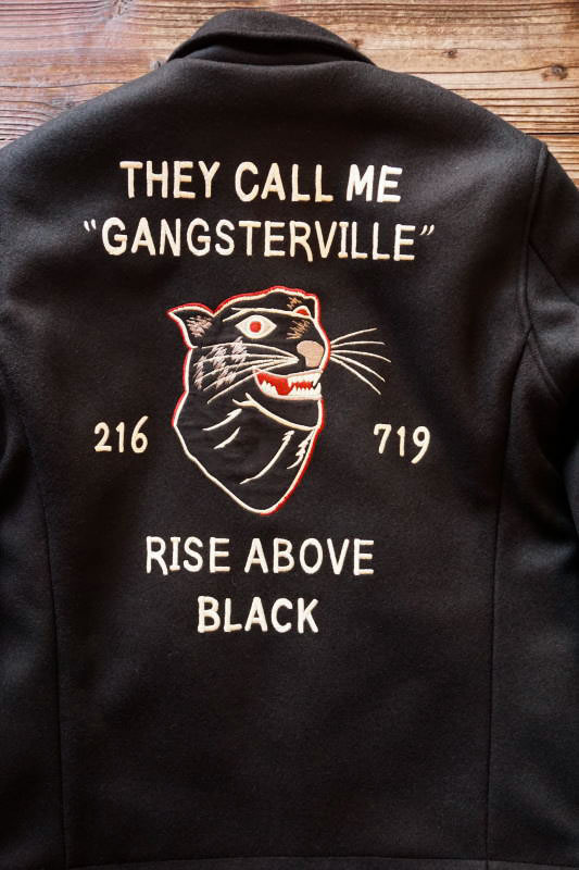GANGSTERVILLE RISE ABOVE - JACKET BLACK