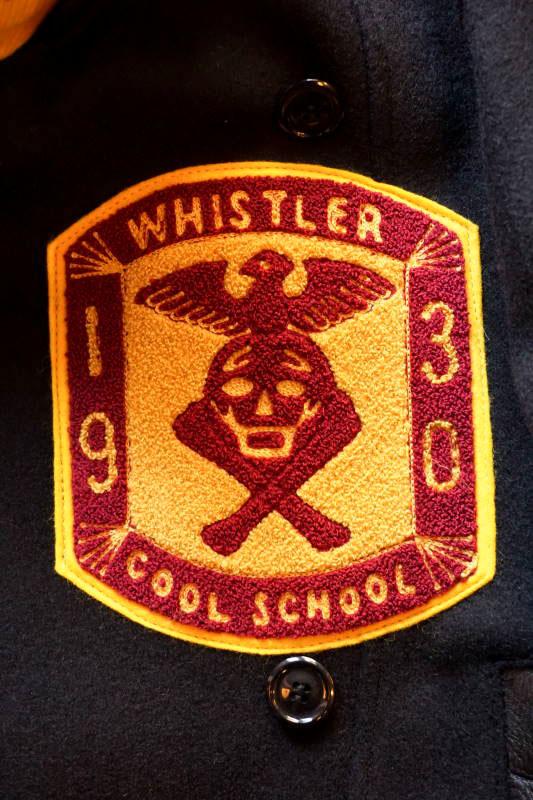 "5 WHISTLE ""COOL SCHOOL"" COAT MUSTARD"