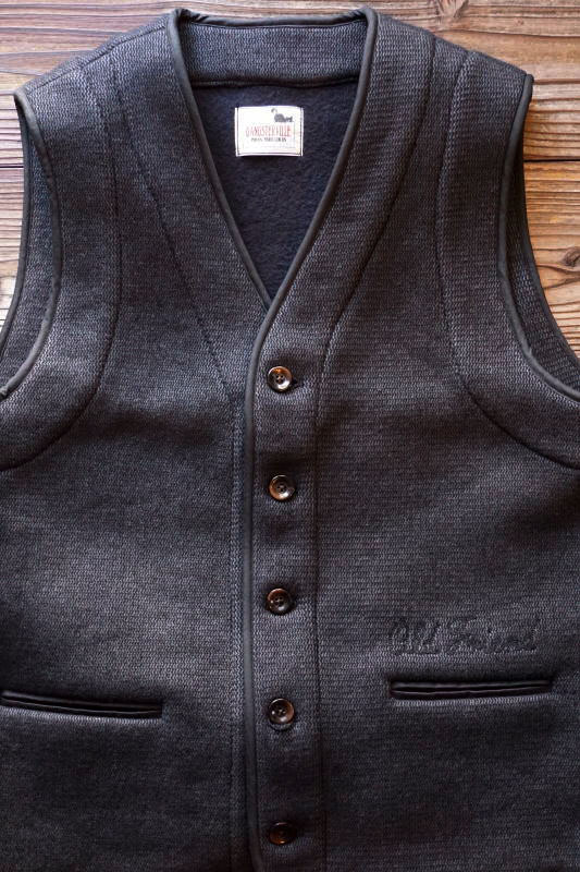 GANGSTERVILLE BEACH - VEST BLACK