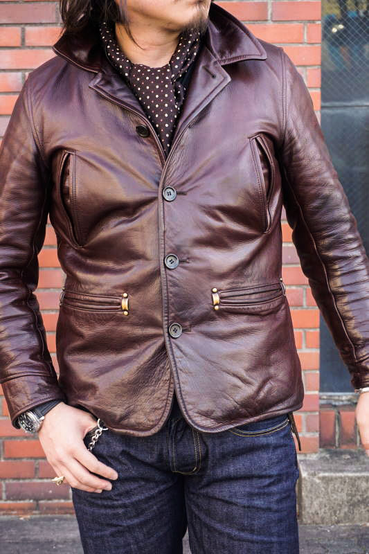 """BY GLAD HAND GOODFELLOWS """"COW HIDE"""" BROWN"""