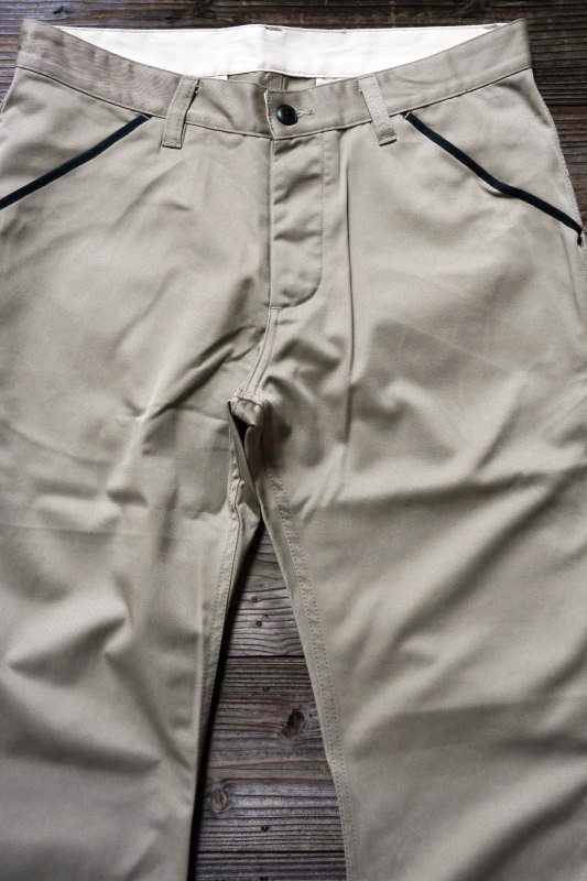 5 WHISTLE WORK PANTS BEIGE