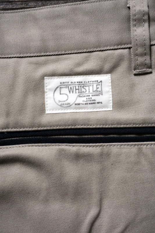5 WHISTLE WORK PANTS BEIGE