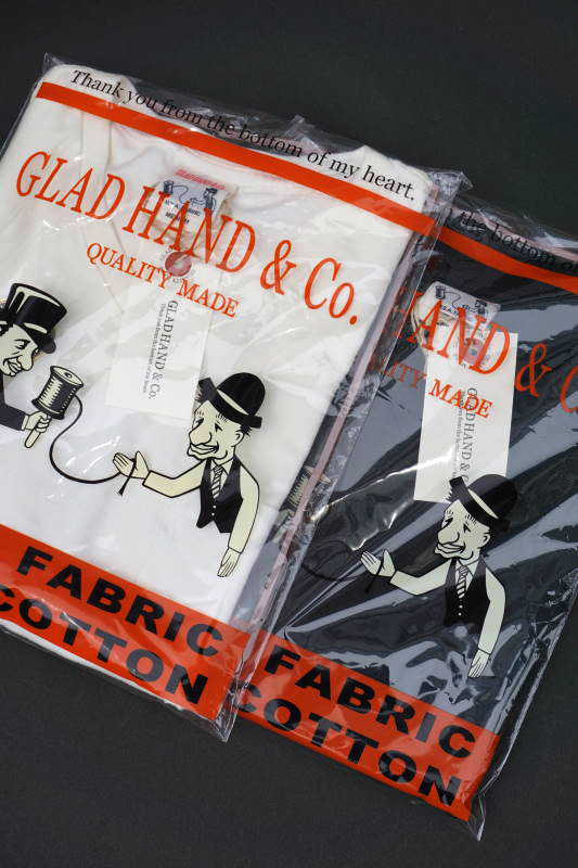 "GLAD HAND STANDARD V-NECK T-SHIRTS ""USED"""