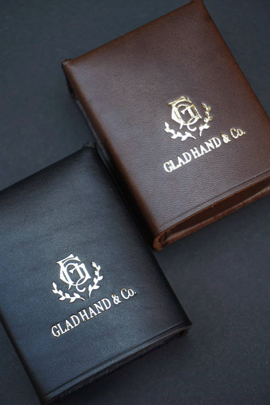 GLAD HAND GH LEATHER - CIGARETTE CASE