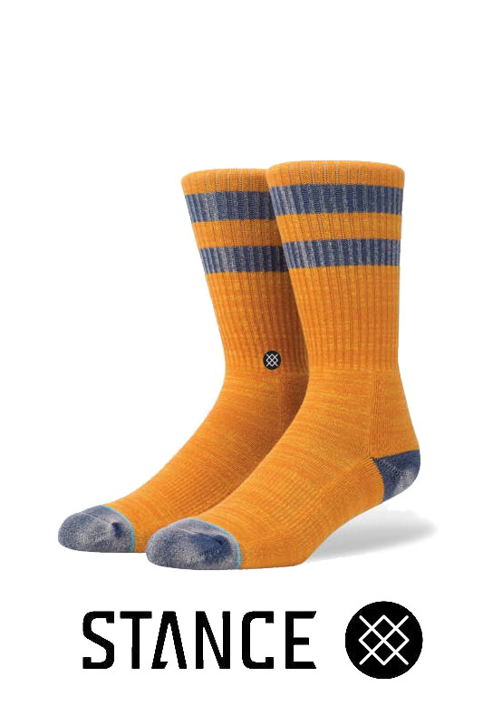 STANCE SOCKS Cliffs ORANGE