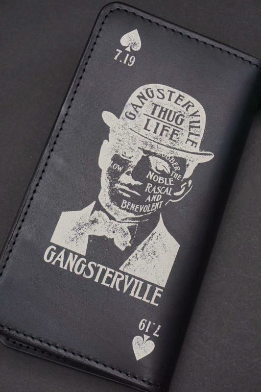 GANGSTERVILLE GSV - WALLET BLACK