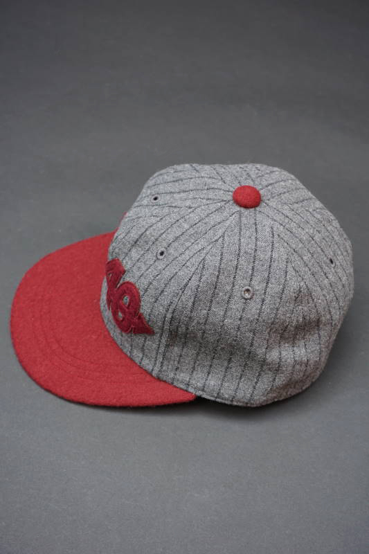 "5 WHISTLE ""1940"" BASEBALL CAP GRAY"