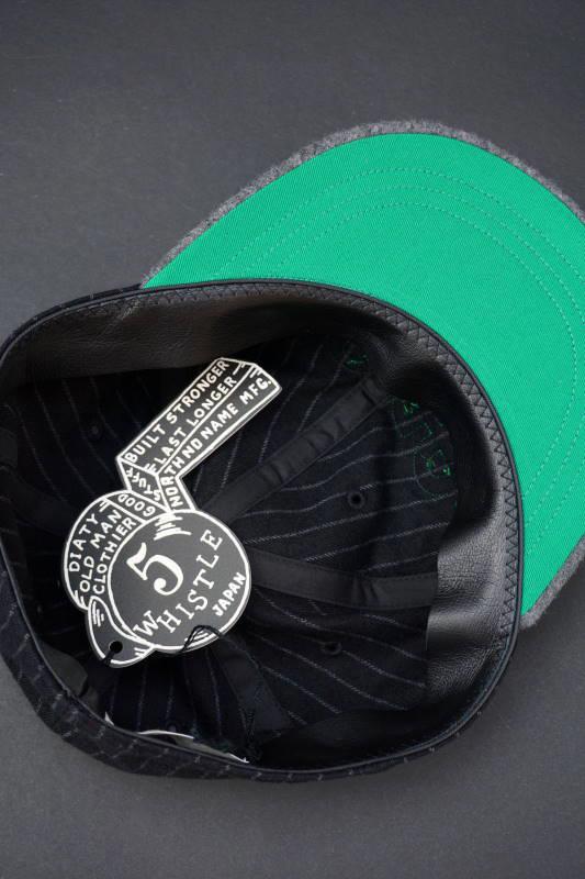 """5 WHISTLE """"1940"""" BASEBALL CAP BLACK"""