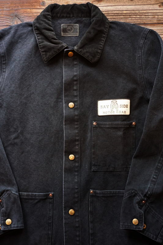 B.S.M.G. WORK - COVERALL BLACK