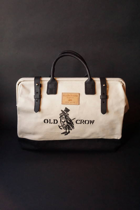 OLD CROW OLD MASON - BAG CANVAS IVR×BLK