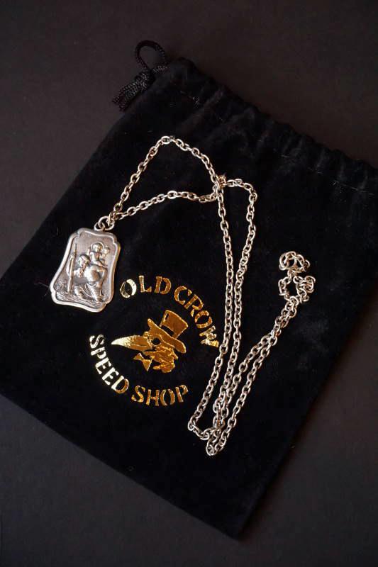 OLD CROW SAINT CHRISTOPHER - MEDAL