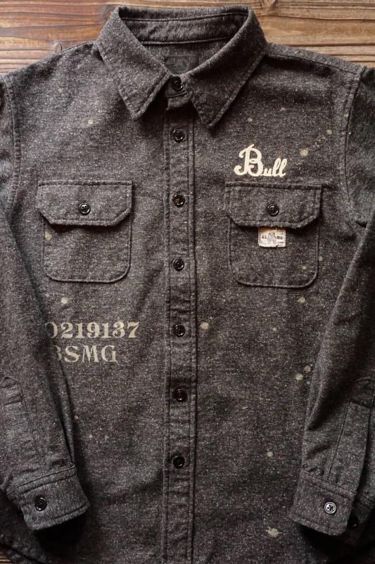 B.S.M.G. WORK - L/S SHIRTS BLACK