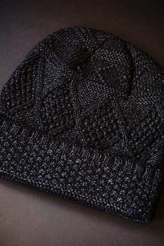 BY GLAD HAND ISLANDS - KNIT CAP BLACK