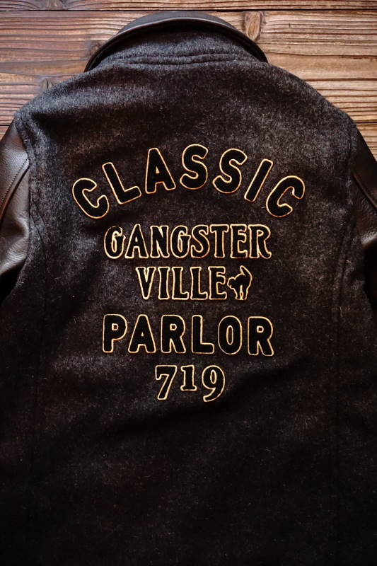 GANGSTERVILLE CLASSIC PARLOR - JACKET BLACK