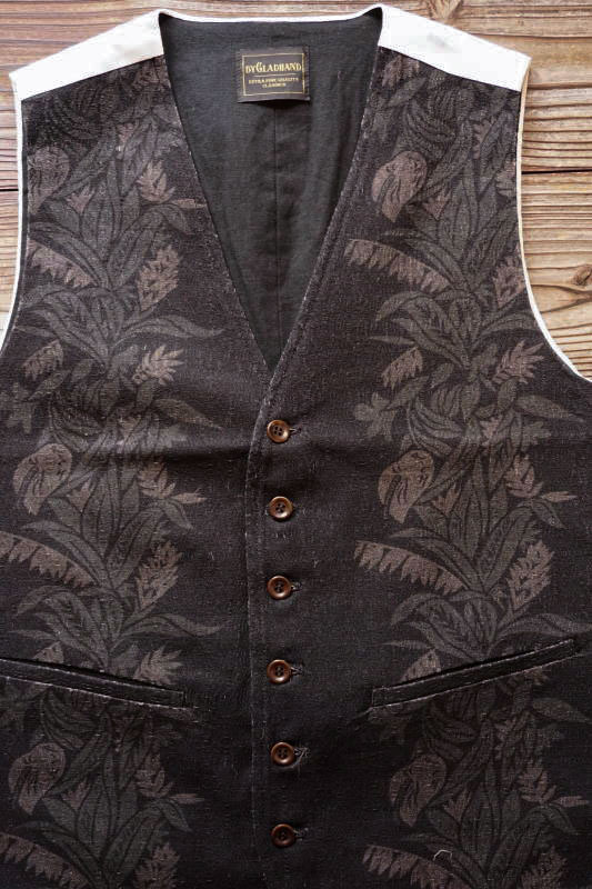 BY GLAD HAND TROPICAL - VEST BLACK