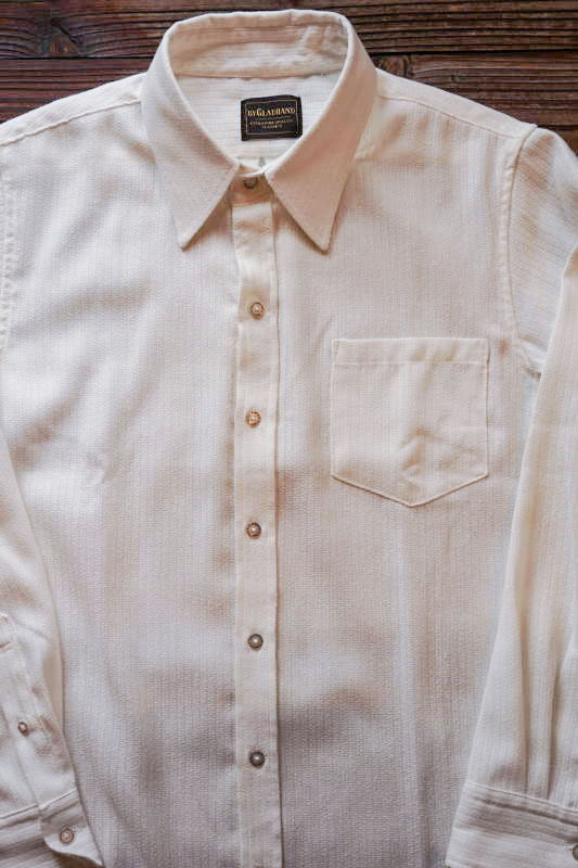 BY GLAD HAND SUPPER - L/S SHIRTS WHITE