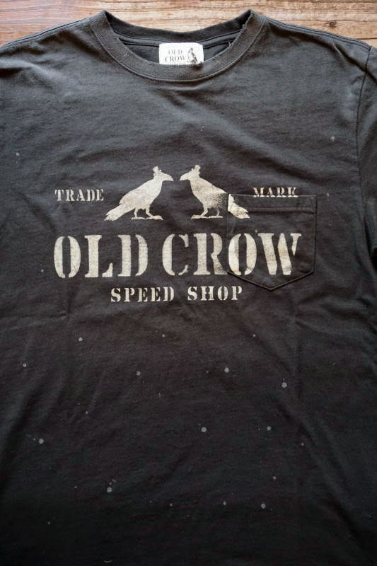 OLD CROW TWO CROW - S/S T-SHIRTS BLACK